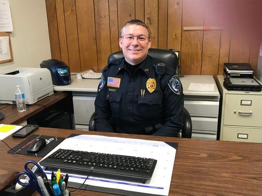 Port Edwards Police Chief Scott Drew