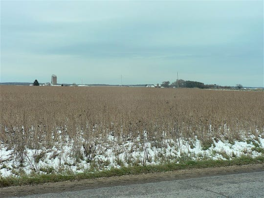 Snow hampered soybean harvest in many parts of the state last week.