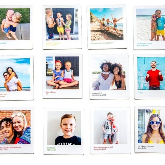 Pick a theme or go with your favorite shots with their photo magnets from Pinhole Press.