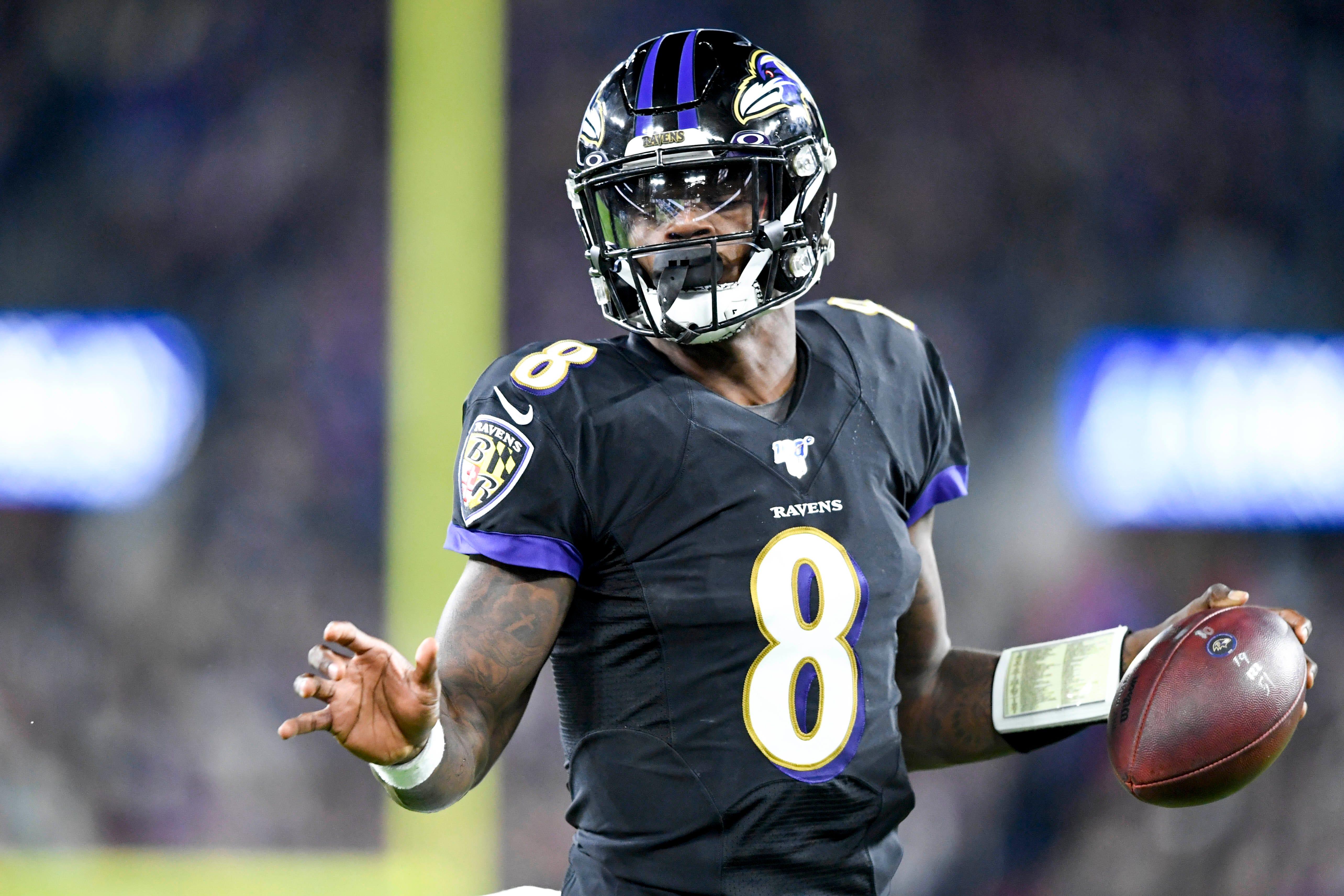 Fantasy football rankings for Week 10: Lamar Jackson hits overdrive