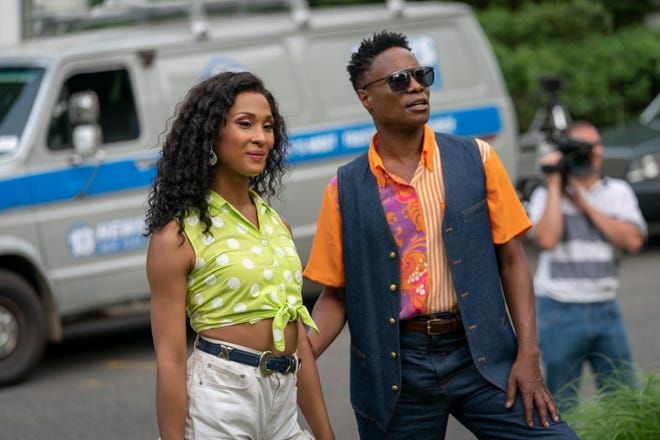 """Mj Rodriguez, left, and Billy Porter, star in FX's """"Pose,"""" a leading series in LGBTQ representation."""