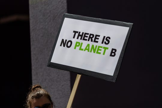 Protest in Los Angeles on Sept. 20, 2019.