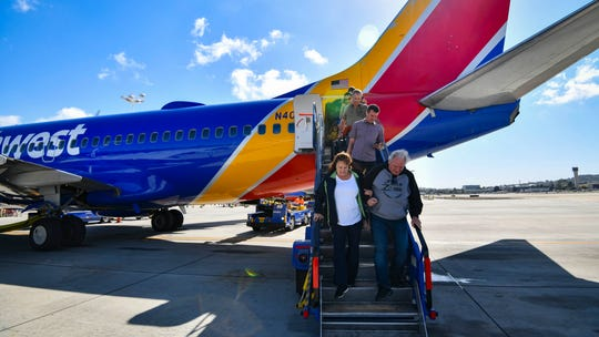 Southwest Airlines urges passengers to report 'any unwelcome behavior' during flight