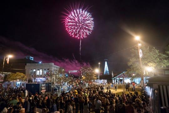 Fireworks will again be part of Alex Winter Fête on Dec. 12-15.