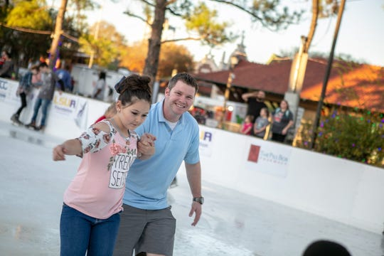An outdoor rink downtown will give festivalgoers the chance to ice skate at Alex Winter Fête, held Dec. 12-15.