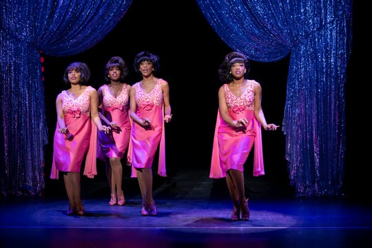 "The Shirelles in ""Beautiful,"" which hits the State Theatre in New Brunswick this weekend."