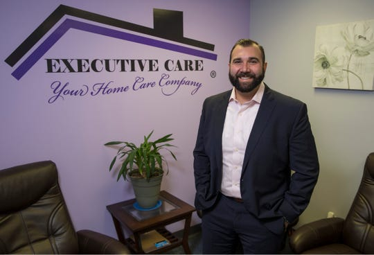 Michael Baillie, owner of Executive Care at his office in Toms River. Toms River, NJThursday, November 7, 2019