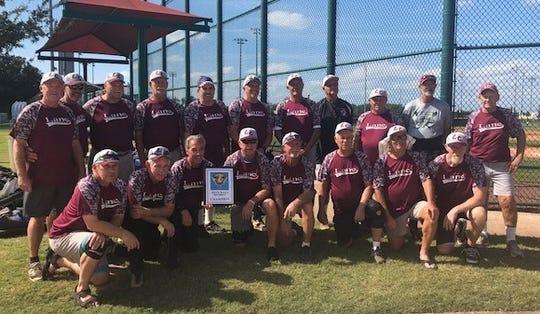 The Lane Construction 70-year-old softball team won the AAA division of theInternational Senior Softball Association (ISSA) Winter World Championships held at Sanford'sBoombah Stadium last weekend.