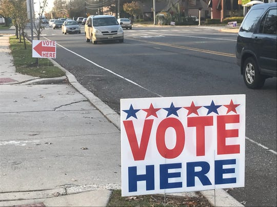 Some voters went to the polls Tuesday with their own candidates in mind.
