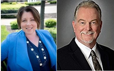 Ann Becker and Bruce Jones will return to West Chester Township offices