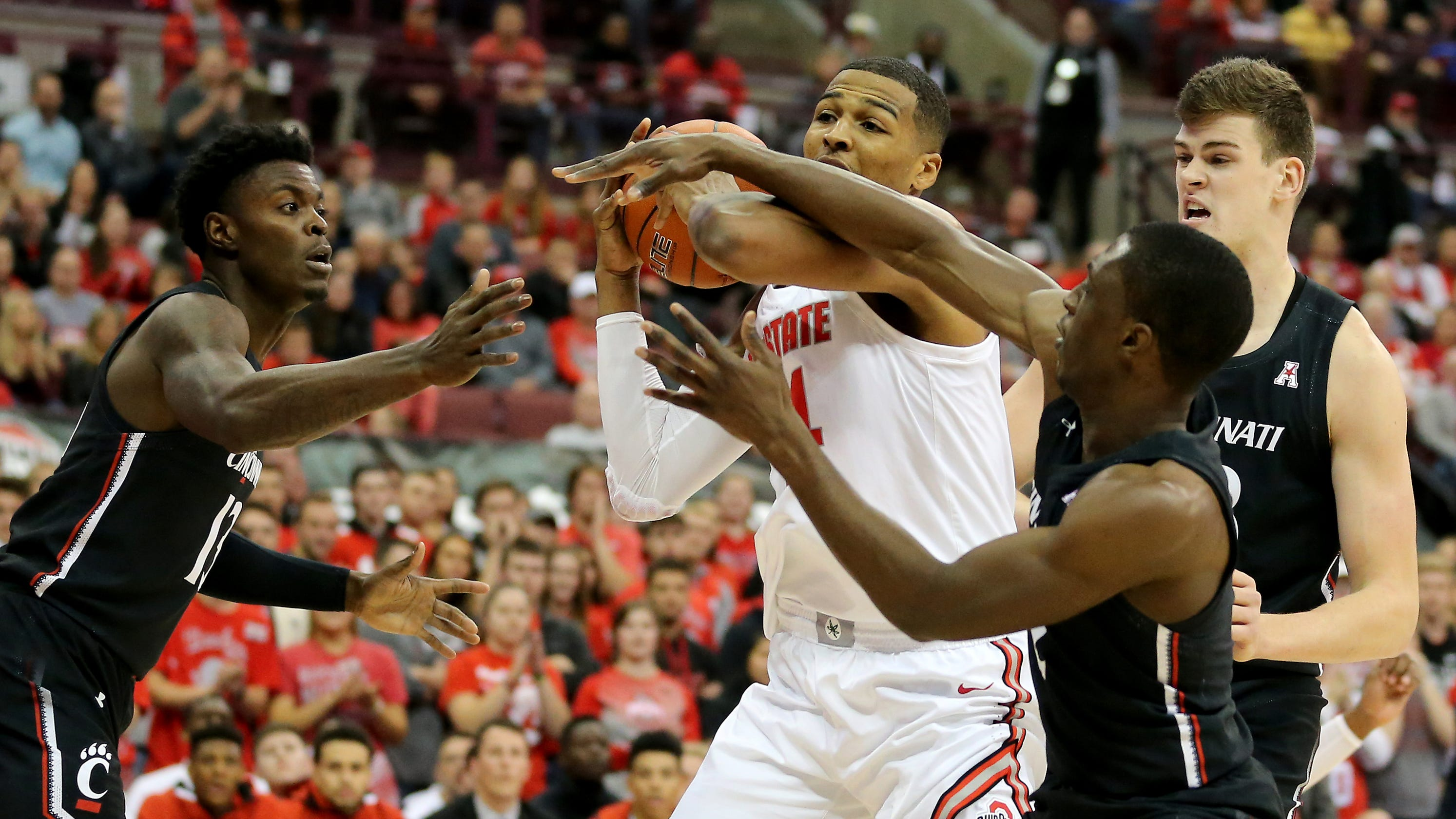No 18 Ohio State Pulls Away From Uc Basketball In Strong