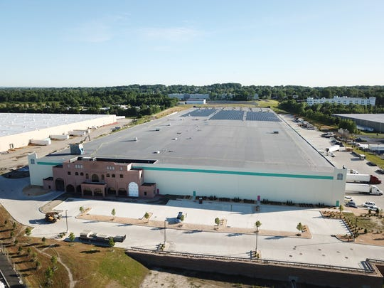 The new AriZona Beverage Production, Manufacturing and Bottling Facility at the Federal Business Center located in the Keasbey Industrial Zone in Woodbridge.