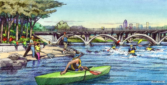 A look at plans for the Scott Avenue Dam.