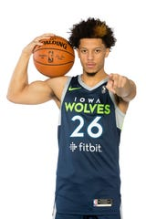 Former Iowa State guard Lindell Wigginton is returning to central Iowa to play basketball as he begins the 2019-20 season as a member of the NBA G League's Iowa Wolves.