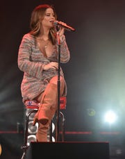 Maren Morris performs at Stars and Strings at the Fox Theatre in Detroit on Wednesday, Nov. 6, 2019.