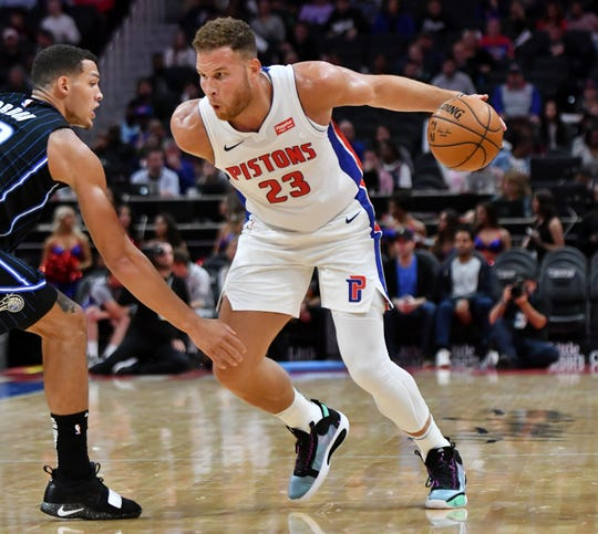 After missing the first nine games of the season because of knee and hamstring issues, Pistons forward Blake Griffin has been cleared to resume all basketball activities.
