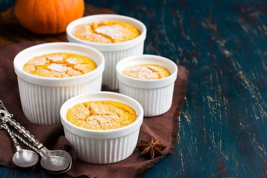 Pumpkin souffles. (Dreamstime/TNS)