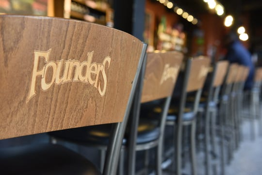 Founders' Detroit taproom will remain closed until early 2020.
