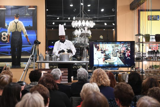 Chef Omar Mitchell from Craft Creative Catering will be one of the speakers at Dec. 4 Dish & Design at the Great Lakes Culinary Institute.