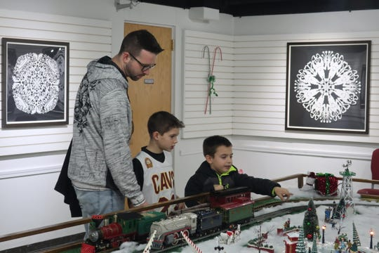 """The """"Hayes Train Special"""" model train display returns on Friday, Nov. 29, to the Hayes Presidential Library & Museums."""