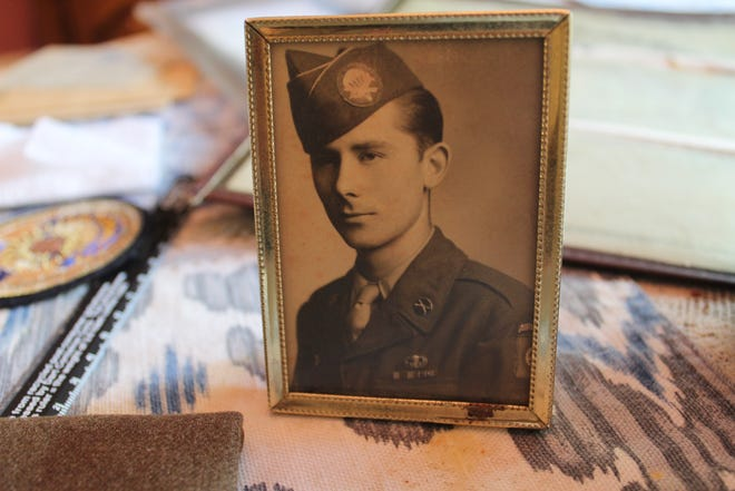This photo of Calvin Haar, a World War II  U.S. Army veteran from Elmore, shows him in 1943 at 18 shortly after graduating from Fremont Ross High School. Now 95, Haar is one of the last remaining World War II veterans still living in Ottawa County.