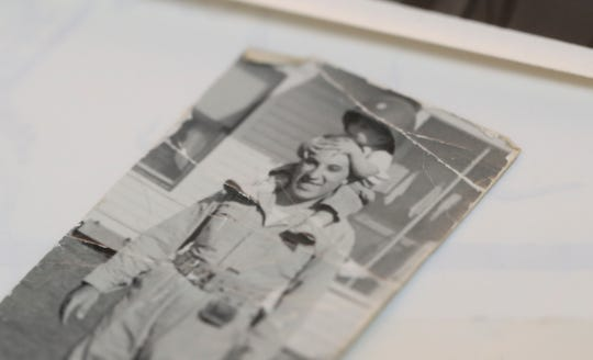 Victor Delnore kept this photo of him with his son, Victor Delnore throughout his service in the Army. The senior Delnore fought in WWII and helped rebuild Japan and the Netherlands after the war. He retired after a full career as a full colonel.