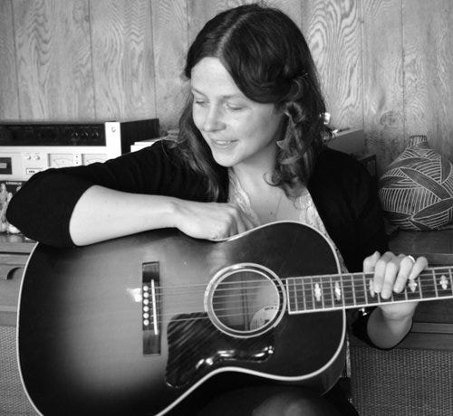 Singer-songwriter May Erlewine will perform a concert on Nov. 20 at the White Gull Inn in Fish Creek.