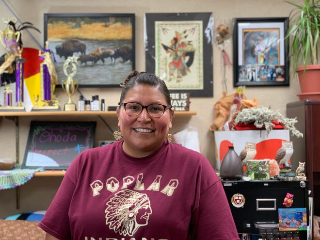 Ramey Growing Thunder is Director of Fort Peck's Language and Culture Department.