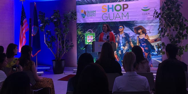 Guam Visitor's Bureau 8th annual Shop Guam E-Festival launches Nov. 10, and features international influencers to uplift the island as a prime shopping destination. Pilar Laguana, the bureau's president and CEO, discusses the upcoming festival at the bureau's headquarters on Thursday, Nov. 7.