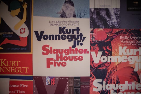 The Kurt Vonnegut Museum and Library opens at 543 Indiana Ave. in Indianapolis on Nov. 9, 2019.
