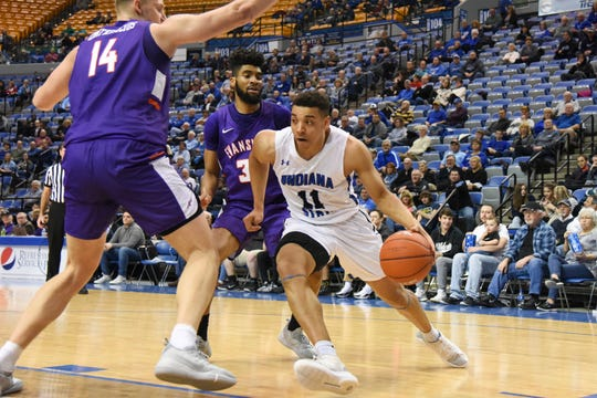 Indiana State junior guard Tyreke Key (11) led the MVC in scoring last season and returns for his junior year.