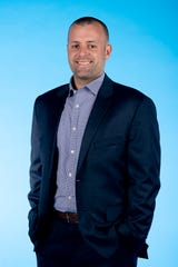 Knox.biz 40 Under 40 nominee Craig Cobb, Vice President of Development at LHP Capital LLC, poses for a photo in the Knox News photo studio in Knoxville, Tenn. on Tuesday, Nov. 5, 2019.