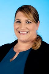 Knox.biz 40 Under 40 nominee Melanie Morris, Director of Programming and Community Development at WATE-TV, poses for a photo in the Knox News photo studio in Knoxville, Tenn. on Wednesday, Nov. 6, 2019.