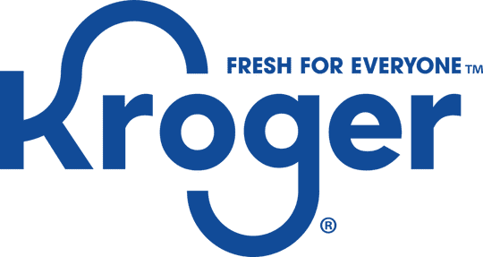 "Kroger introduces a new logo and slogan, ""Fresh for Everyone."""