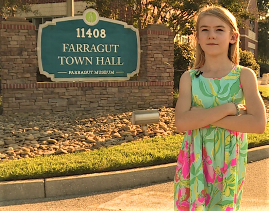Leilani Johns made national news as the youngest applicant for public office.  She was 9 when she filed papers for an alderman seat at Farragut's Town Hall in September of 2018.