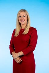 Knox.biz 40 Under 40 nominee Elise Collier Massey, Owner of Collier Restaurant Group, poses for a photo in the Knox News photo studio in Knoxville, Tenn. on Wednesday, Nov. 6, 2019.