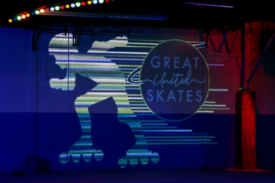 A look inside the Great United Skates, 135 S Earl ave., Thursday, Nov. 7, 2019, in Lafayette. The original rink, Great Skates Fun Center, opened in 1999, and closed in 2013 due to financial struggles.