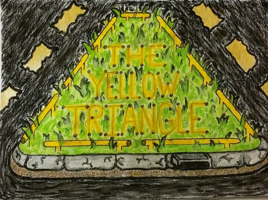 The Yellow Triangle, an Opelousas based band with hearts of gold, is starting to create its own original songs.