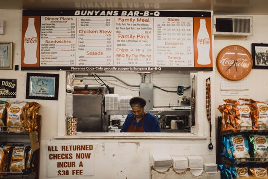 Bunyan's Bar-B-Q is located in Florence, Ala.