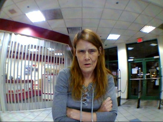 The Clark County Sheriff's Office said Thursday, Nov. 7, 2019, it has issued an arrest warrant for Vivian Alexander after she was photographed at a post office allegedly mailing drugs to the Clark County Jail.