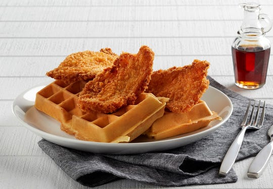 Fried Chicken & Waffles is one of the complimentary entrees Mimi's Bistro & Bakery is offering veterans on Veterans Day.