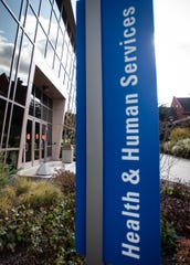 All entrances to the Health & Human Services building on the campus of Lansing Community College were closed, Thursday, Nov. 7, 2019.