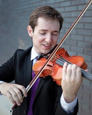 Manitowoc native Andrew Dunlap studied violin at Eastman College and is studying at Rice University in Texas.