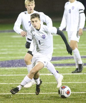 Lexington All-American Ryan Parker was named the 2019 Mansfield News Journal Boys Soccer Player of the Year.