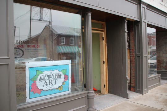 The Art Center Ltd., owned and operated by Rachel McCall, will be located in this space at 122 South Main Street. It's a building owned by entrepreneurs Alex Sheridan and Luke Henry.