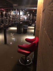 Bardog Tavern closed on Thursday until further notice after its basement flooded again from a damaged water main. The photo shows a past flooding on Oct. 30.