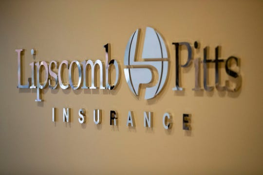 Lipscomb and Pitts Insurance on Thursday, Nov. 7, 2019, in Memphis.