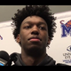 Memphis freshman James Wiseman speaks to reporters Thursday about his 28-point debut and how many points he could've scored if he played more minutes.