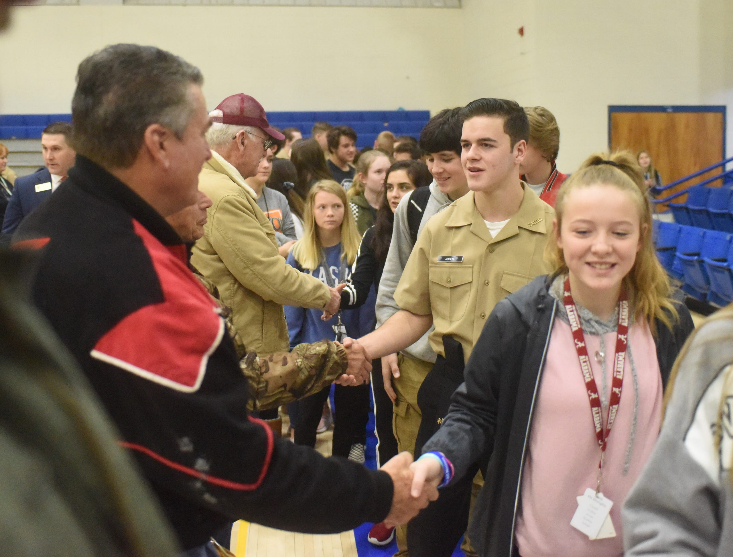 An image from the 2019 Freed is Not Free veterans program held Thursday, Nov. 7 at the Mountain Home High School gymnasium.
