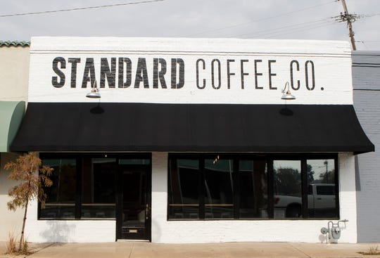 Husband and wife owners Whitney and Cory Bahr are set for a soft opening of their Standard Coffee Co. coffee shop on Friday. The shop is located on DeSiard St.